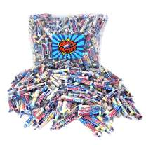 CrazyOutlet Pack - Wonka Sweetarts Original Mini Rolls Candy, Assorted Flavors Twist Wrap, Party Candy, Bulk Pack, 2 lbs