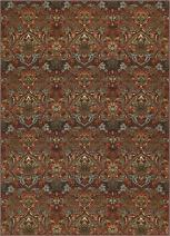 Well Woven Non-Skid/Slip Rubber Back Antibacterial 5x7 (5' x 7') Traditional Persian Rug Brown Mutli Color Thin Low Pile Machine Washable Indoor Outdoor Area Rug