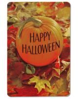 American Greetings Halloween Card Pack, Pumpkin (6-Count)
