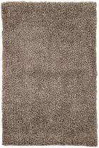 """Jaipur Living Flux Shag Solid Brown Area Rug (3'6"""" X 5'6"""")"""