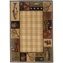 Oriental Weavers Hudson 1065B Area Rug, 10' x 13', Beige