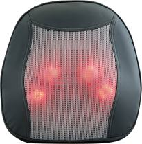 Relaxzen Shiatsu Massage Cushion with Heat for Lower Back