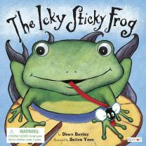 Bendon Piggy Toes Press Icky Sticky Frog Interactive Storybook 42801