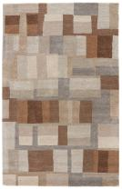 Jaipur Living Adell Hand-Tufted Abstract Gray/Silver Area Rug (2' X 3')