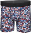 "Terramar Men's Silkskins 6"" Inseam Air Cool Boxer Briefs with Fly"