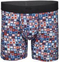 "Terramar Men's Silkskins 6"" Inseam Air Cool Boxer Briefs with Fly"