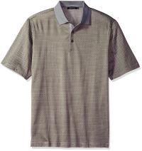 Bugatchi Men's Mercerized Cotton Short Sleeve Polo Shirt