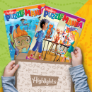 Highlights Puzzle Club - Kids Puzzle Books Subscription: AGES 7+ BOX
