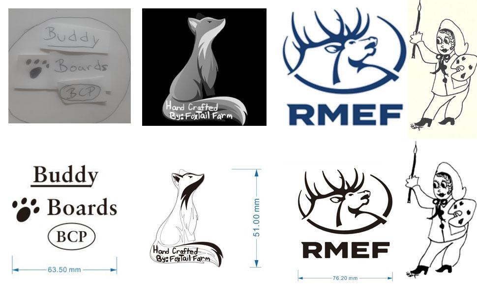 Customer design drawings samples