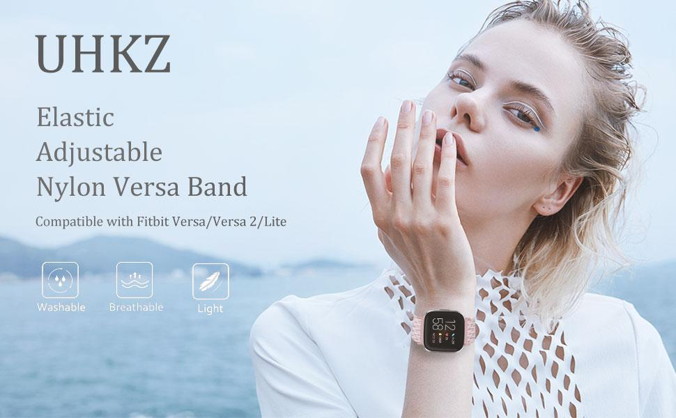 UHKZ Compatible with Fitbit Versa Bands