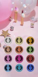 Pestañas falsas zenotti soft false lashes natural look fluffy 15mm long fake lashes pack handmade