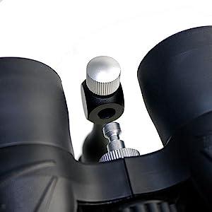 Binoculars Tripod adapter
