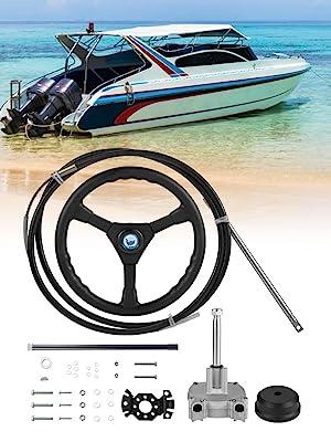 boat steering system