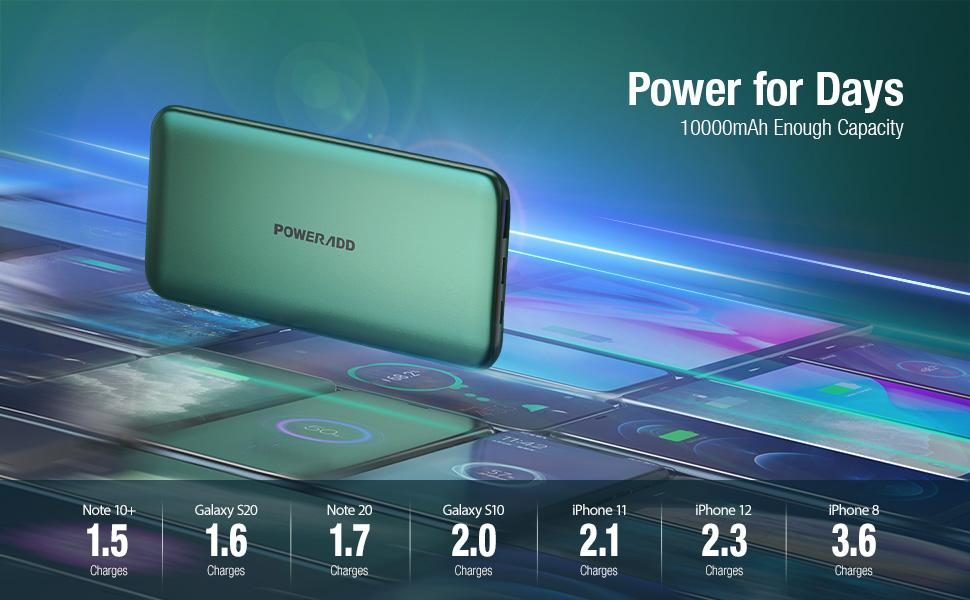 portable phone charger portable power bank