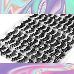 zenotti fluffy Pestañas falsas reusable soft look fake lashes fluffy faux mink lashes pack 40 15mm