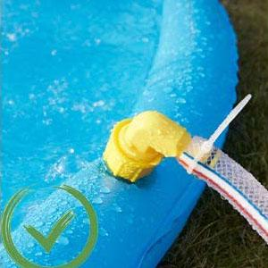 Sprinkler Play Mat& Wading Pool for Fun Games Learning Party