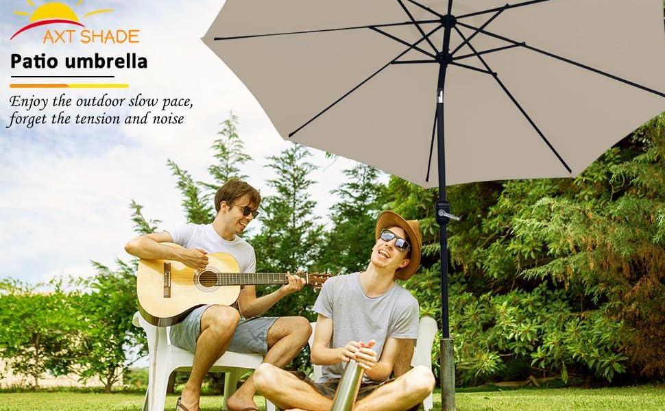 9ft Patio Umbrella beige