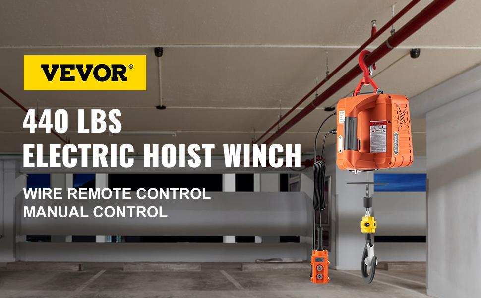 power winch crane