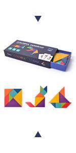 Colorful Tangrams
