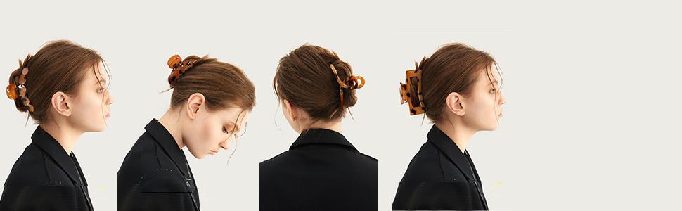 hair clips claw