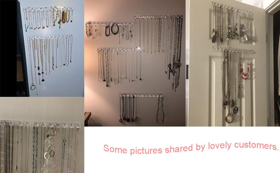 necklace hooks for wall