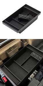 Center Console Organizer Tray for 2019 2020 2021 Chevy Silverado 1500 GMC Sierra 1500 2500 3500 HD