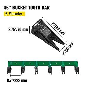 toothbar for bucket