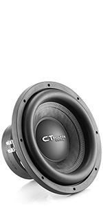 ct ozone 12 d2 subwoofer dual 2 ohm car sub loud bass 1600 watts max power 800 watt rms