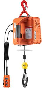 electric hoist winch