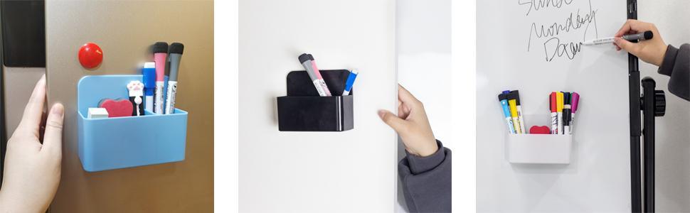 magnetic pen and erase holder