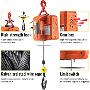 portable crane hoist