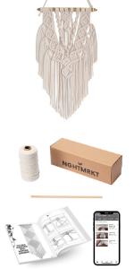 macrame wall hanging kit 2
