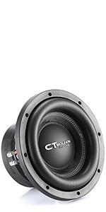 ct ozone 10 d2 subwoofer dual 2 ohm car sub loud bass 1600 watts max power 800 watt rms