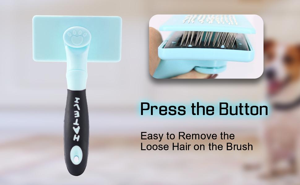 Self Cleaning Slicker Brush, Pet Grooming Tool for Dogs and Cats