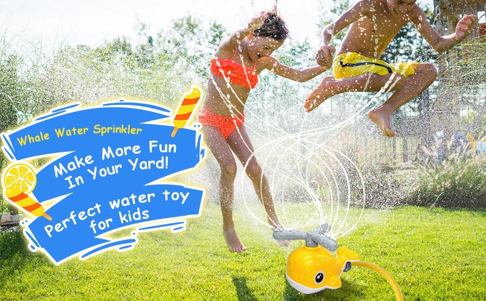 kids sprinkler