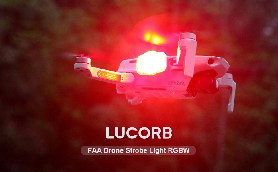 FAA drone strobelight RGBW LUCORB