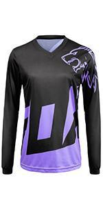 mountain bike shirt cycling shirts for women long sleeve bike jersey women mountain jersey