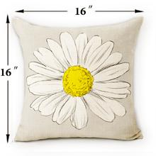 yellow grey pillow covers 16 x 16