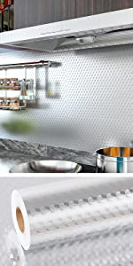 Aluminum Foil Backsplash