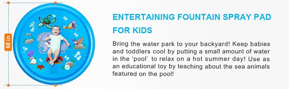 splash pad for kids