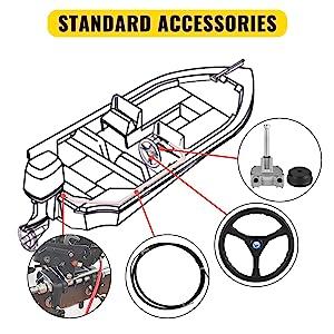 boat steering kit