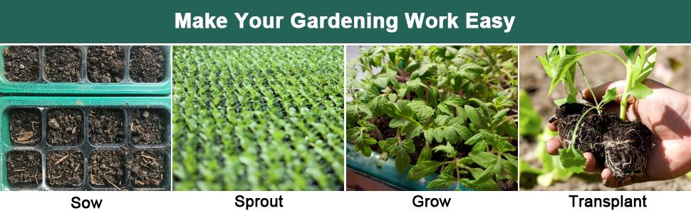 Make Your Gardening Work Easy