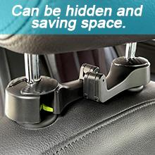 Can be hidden and saving space