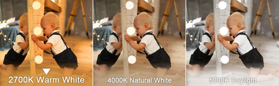 2700K warm white