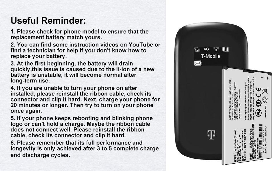 Z700A,Li3715T42P3h654251 Replacement Battery