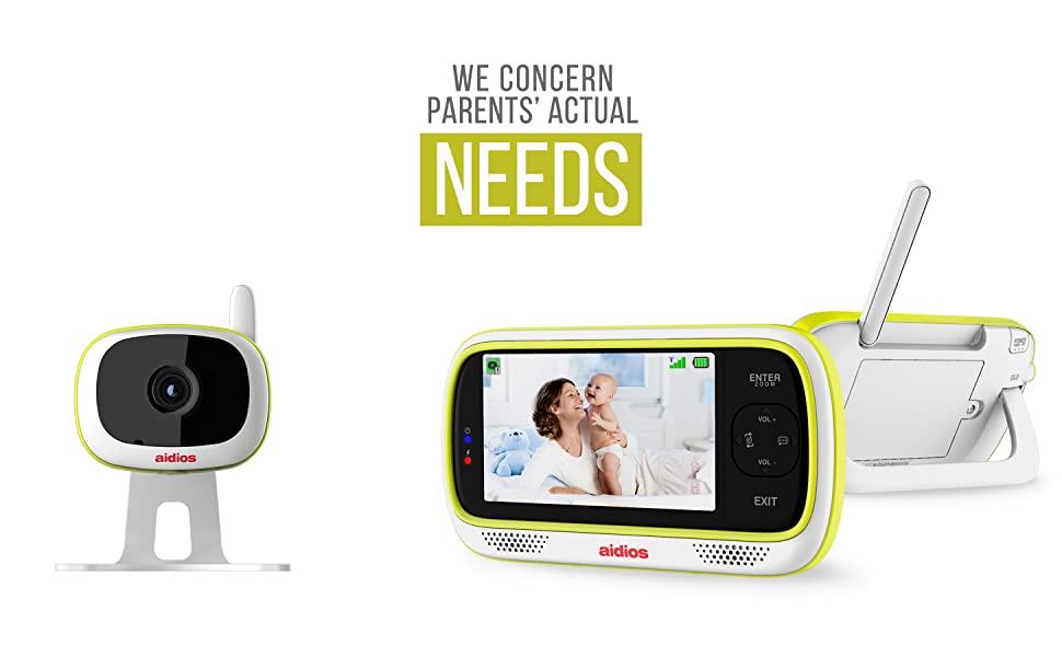 aidios M1 baby monitor - We concern parents' actual needs