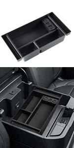 Center Console Organizer Tray for 2019-2021 Chevy Silverado 1500 GMC Sierra 1500 2500 3500 HD