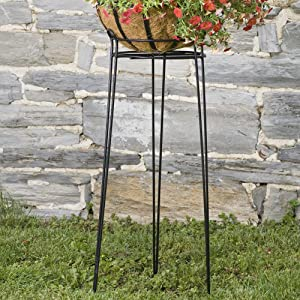 CobraCo Basic Black 30 Inch Plant Stand