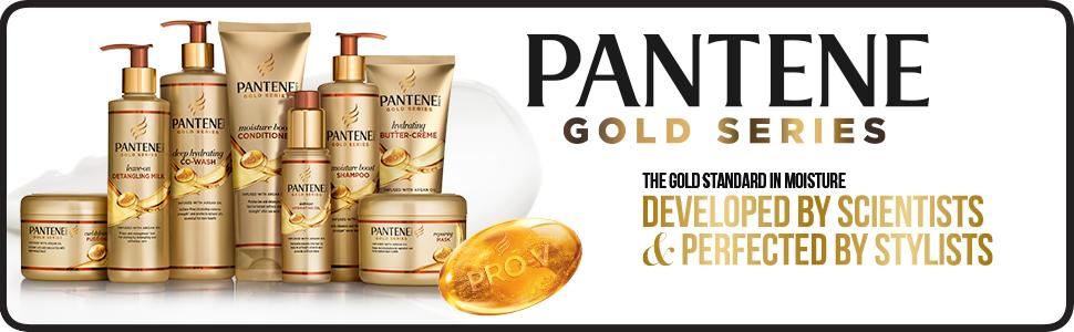 Pantene, pantene pro-v, gold series, hair care products, hair products, repairing mask, hair mask