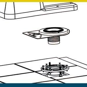 simple install toilet fixing no leak